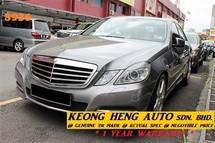 2011 MERCEDES-BENZ E-CLASS W212 E250 CGI 1.8  AVANTGARDE (ACTUAL YR MADE 2011)(GST INCLU)(SUNROOF)(LOW MILE)(LIKE NEW)(REG2013)
