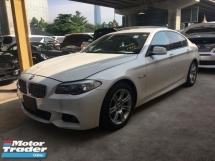 2014 BMW 5 SERIES Unreg BMW 520i 2.0 Turbo M Sport camera 8G Push Start