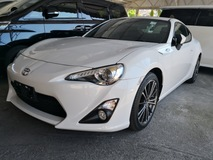 2014 TOYOTA 86 GT COUPE JAPAN UNREG