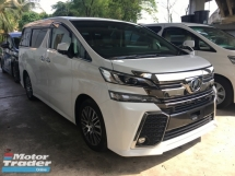 2015 TOYOTA VELLFIRE 2.5 ZG 7seats 360view PowerBoot Keyless Push Start 7G