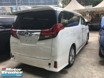 2015 TOYOTA ALPHARD S SA Sunroof 7seather 360View Cam 7G Keyless