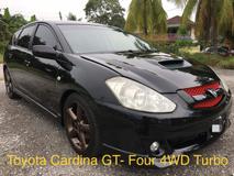 2009 TOYOTA CALDINA GT-FOUR N EDITION