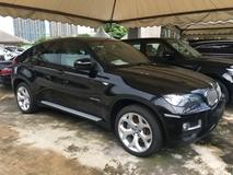 2014 BMW X6 xDrive 40d 3.0 Twin Power Turbocharge 5 Seat 3 Camera Automatic Power Boot Memory Seat Unreg