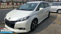 2014 TOYOTA WISH 1.8 S MONOTONE FREE TYRES (UNREG) 5 YEARS WARRANTY
