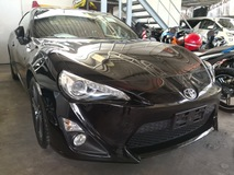 2012 TOYOTA 86 GT COUPE JAPAN UNREG