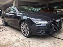 2013 AUDI A7 3.0L TFSI QUATTRO JAPAN SPEC (UNREG) 2013