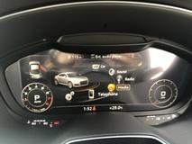 2015 AUDI TT 2.0 TFSi SLine Quattro STronic Multi Media Interface Virtual Cockpit Push Start Paddle Shift