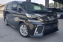 2015 TOYOTA VELLFIRE 2015 Toyota Vellfire 2.5 Z Spec 2 Power Door 7 Seater Unregister for sale