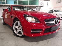 2014 MERCEDES-BENZ SLK SLK200 AMG Biege Nappa Leather