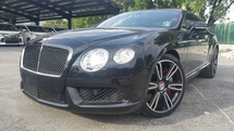 2014 BENTLEY CONTINENTAL 4.0 GT CONVERTIBLE V8 (A)