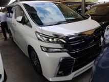 2016 TOYOTA VELLFIRE 2.5 ZG HIGH SPEC PILOT SEAT 4 CAMERA POWER BOOT UNREG NO GST PRICE