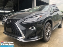 2016 LEXUS RX  200T VERSION L FULL SPEC WITH REAR ENTERTAINMENT