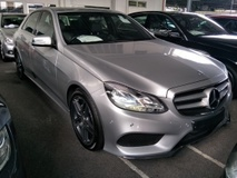 2013 MERCEDES-BENZ E-CLASS 2.0 AMG 2 ELECTRIC SEATS 7 SPEED