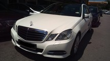 2013 MERCEDES-BENZ E-CLASS E250 Local Premium High Spec (ACTUAL YR MADE 2013) NO SST FREE 1 YEAR WARRANTY