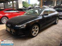2014 AUDI A5 Unreg Audi A5 2.0 Turbo MMI Push Start 2ES Camera Sun Roof 7Speed