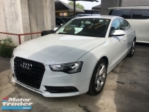 2014 AUDI A5 Unreg Audi A5 2.0 Turbo MMI Push Start Camera Sun Roof QTTR