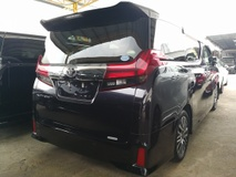 2015 TOYOTA ALPHARD SC EDITION SUNROOF PILOT SEATS UNREG 2015