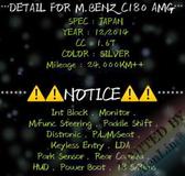 2014 MERCEDES-BENZ C-CLASS C180 AMG 1.6T (UNREG) By AlenLim