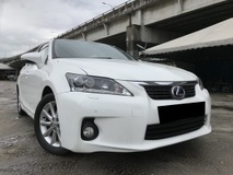 2011 LEXUS CT200H 1.8 HYBRID LUXURY HIGH SPEC FU LON NAVI