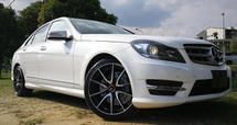 2013 MERCEDES-BENZ C-CLASS 2013 MERCEDES BENZ C180 1.8 CGI AMG JAPANSPEC SELLING PRICE WITH GST ( RM 136000.00  NEGO )