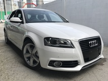 2012 AUDI A3 HATCHBACK 1.4 TURBO S LINE JAPAN NEW UNREG