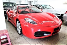 2008 FERRARI 430 F430 F1 Red Interior Sport Paddle Shift Steering Push Start Button Front Reverse Sensors Xenon Light