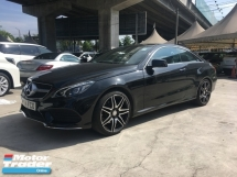 2014 MERCEDES-BENZ E-CLASS 2.0 AMG Coupe Camera 2Door Turbo 7Speed
