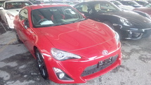 2014 TOYOTA GT86 2.0 Unregistered NO GST PRICE