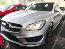 2013 MERCEDES-BENZ CLA 250 AMG Japan Unreg