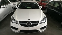 2014 MERCEDES-BENZ E-CLASS E200 Coupe AMG  GST Waived
