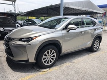 2015 LEXUS NX 200t NX200t 2.0 Turbocharged 235hp 6 Speed Tiptronic Original 53000km Full Service Records