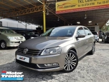 2011 VOLKSWAGEN PASSAT 1.8 (A) TSI GOOD CONDITION ORI PAINT RUNNING GOOD PROMOTION PRICE.