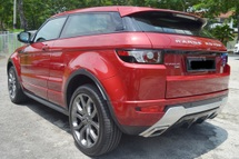 2013 LAND ROVER EVOQUE 2.0 (A) DYNAMIC COUPE FULL SERVICE RECORD