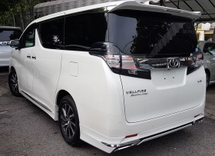 2015 TOYOTA VELLFIRE 2015 Toyota Vellfire 3.5 Executive Lounge Full Spec Unregister for sale