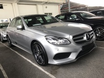 2013 MERCEDES-BENZ E-CLASS E200 E250 2.0 AMG 7G ACTUAL YR 2013 PRICE WITH GST FULL SPEC LEATHER SEAT 18 RIMS