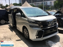 2015 TOYOTA VELLFIRE 2.5 ZG SunRoof Home Theater JBL Pilot 7Seather 360View Camera 7G