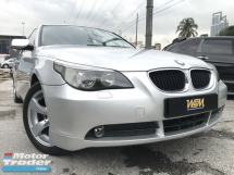2007 BMW 5 SERIES ORGINAL PAINT SUNNROOF LIKE NEW