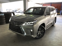 2017 LEXUS LX450 4.5 Diesel Twin Turbo Unreg Sunroof Mark Levinson 4 Camera Power Boot Pre Crash Coolbox