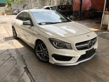 2014 MERCEDES-BENZ CLA CLA45 AMG 4 Matic 2.0 Turbo Unreg Harman Kardon Bucket Seat Pre Crash