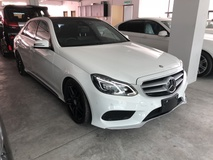 2013 MERCEDES-BENZ E-CLASS E250 AMG 2.0 Turbo Unreg Pre Crash Keyless Push Start