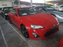 2014 TOYOTA 86 GT (ACTUAL YEAR MAKE 2014) GST INCLUSIVE