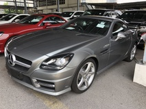 2014 MERCEDES-BENZ SLK SLK200 AMG Sport GST Inclusive 7GTronic Panoramic Roof Paddle Shift Steering Bluetooth Unreg