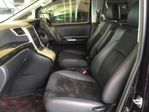 2013 TOYOTA VELLFIRE 2.4 Z Golden Eye GST Inclusive Automatic Power Boot 2 Power Door 7 Seat Half Leather 9 Air Bags