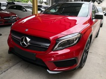 2015 MERCEDES-BENZ GLA 45 AMG UK UNREG PRICE INCLUSIVE GST