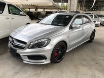 2014 MERCEDES-BENZ A-CLASS A45 2.0 AMG Sport 4MATIC GST Inclusive 2 Memory Seat Distronic Xenon LED Reverse Camera BSN Unreg