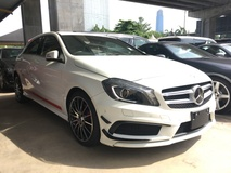 2013 MERCEDES-BENZ A-CLASS Unreg Mercedes Benz A180 AMG sport Includes Gst