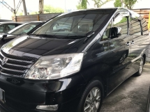 2007 TOYOTA ALPHARD 3.0 MZG Fullspec 2008 Sunroof Power Boot