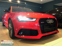 2015 AUDI RS6 *(0% GST)*  4.0L(A)  V8 TFSI. PANORAMIC ROOF.