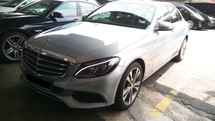 2016 MERCEDES-BENZ C-CLASS C200 Local TRUE YEAR MADE 2016 NO GST Mil 22k km Warranty to 2020