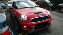 2013 MINI COUPE Cooper S Turbo TRUE YR MADE 2013 NO GST FREE 1 YR WARRANTY CBU Mil 13k km only Full Service Ingress